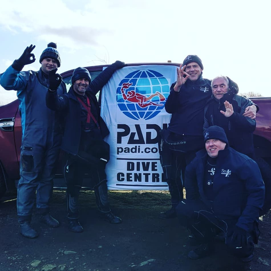 January Open Water Students